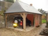 Maison à colombage Cabourg